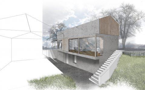 Haus am Hang für einen Pianisten 2017-2019