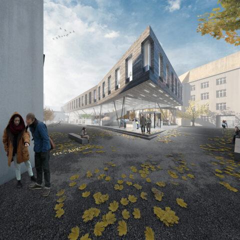 Landratsamt Görlitz – 3. Preis, 2018